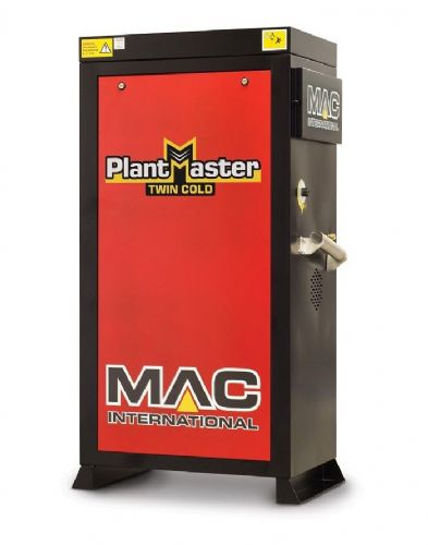 MAC Twin Plantmaster 12/100 - 240V - Static Cold Water Pressure Washer